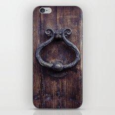Doorknocker iPhone & iPod Skin