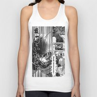 manga Tank Tops featuring Manga 03 by Zuno