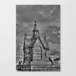 The Mausoleum Canvas Print