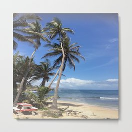 Caribbean Coastline Metal Print