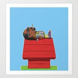 snoop doggy dogg Art Print