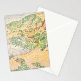 """Paul Signac """"Les Andelys, les laveuses"""" Stationery Cards"""