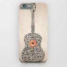 Guitar Notes Slim Case iPhone 6s
