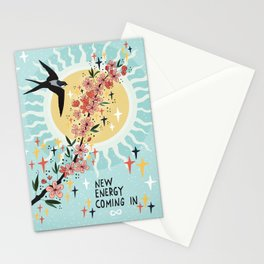 New energy coming in Stationery Cards