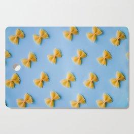 Bowtie Pasta Noodles (Color) Cutting Board