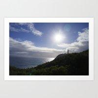 Lighthouse Cape Schank,Mornington Peninsula ,Melbourne ,Victoria,Australia Art Print