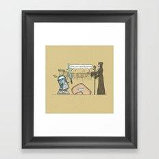 King Artoo Framed Art Print