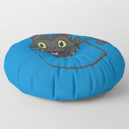 Pocket Toothless Floor Pillow