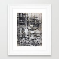cage Framed Art Prints featuring Cage by George Lockyer