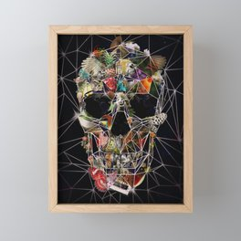 Fragile Skull Framed Mini Art Print