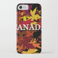 canada iPhone & iPod Cases featuring Canada by megghan18