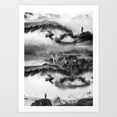 Lost city of Oz Art Print