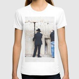 Prayer at the wall T-shirt