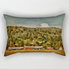Artistic Farming Rectangular Pillow