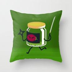 A&A - Ninjar. Throw Pillow
