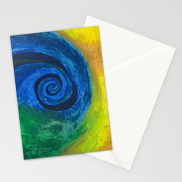 Abstract Poetic Stationery Cards