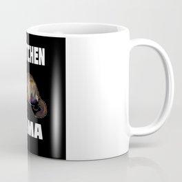 Ferret Mom Gift Idea Design Motif Coffee Mug