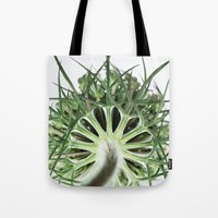 fractal Tote Bags featuring Fractal by A Wandering Soul