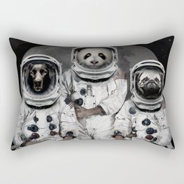 Capricorn 3 - Astronaut animal group Rectangular Pillow