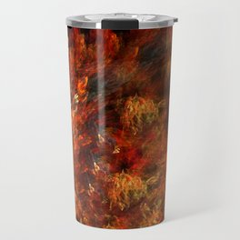 In fire Travel Mug