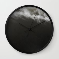 Black Ocean #society6 #decor #buyart Wall Clock