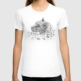 Leopard - Glance back T-shirt