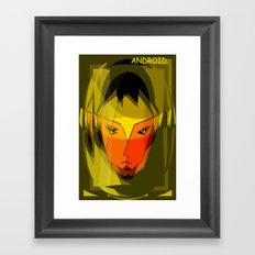 ANDROID. Framed Art Print