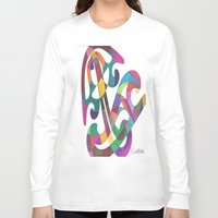 inspiration Long Sleeve T-shirts featuring Inspiration by SaraLaMotheArt