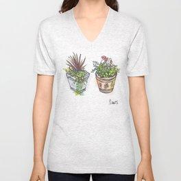 Plants. Unisex V-Neck
