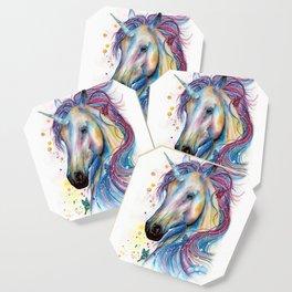 Whimsical Unicorn Coaster