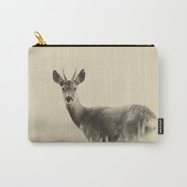 Vintage Roe Deer Carry-All Pouch