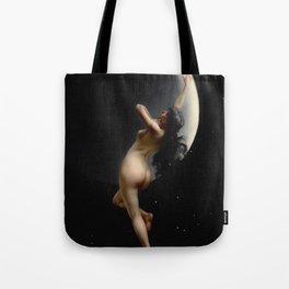 "Luis Ricardo Falero ""Night (also known as Moon Nymph)"" Tote Bag"