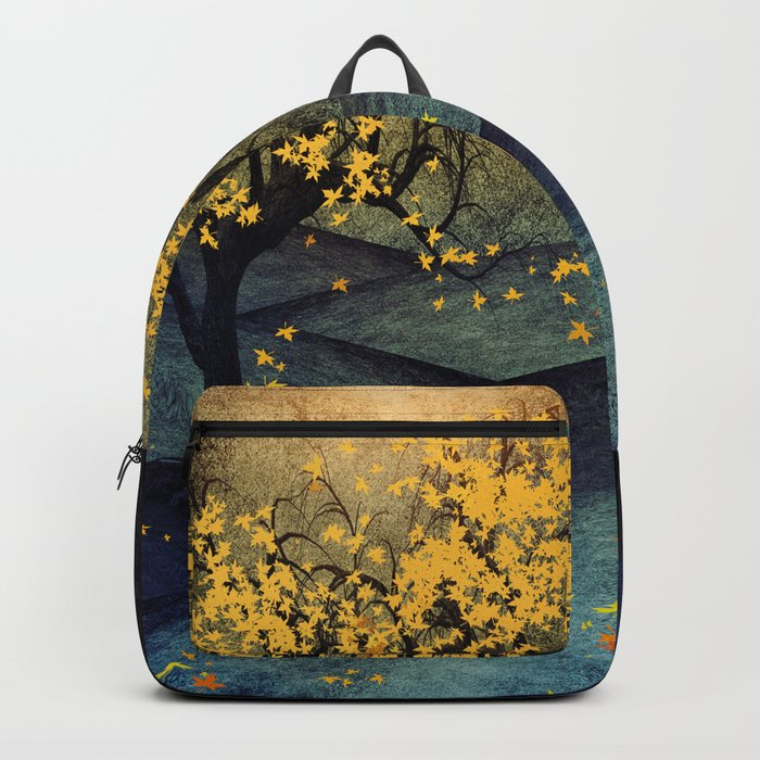 Yellow Autumn Backpack