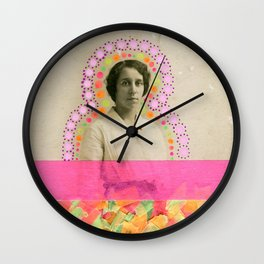 Fluo Byzantine Wall Clock