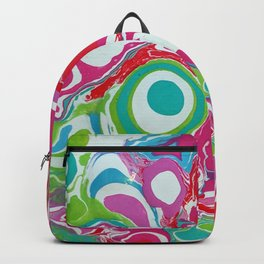 Peacock Green Backpack
