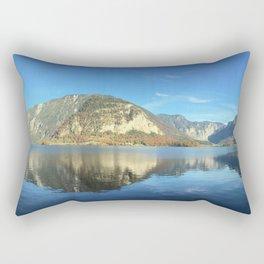Mountain Morning Reflection Rectangular Pillow