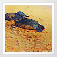 In Praise of Slowness Art Print