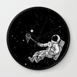 The Starcatcher Wall Clock