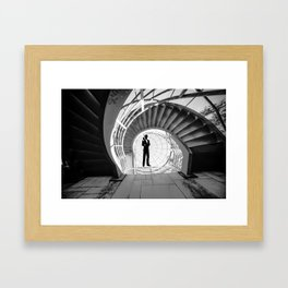 James aBONDened Framed Art Print