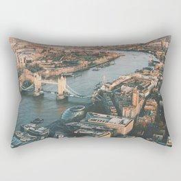 Top of the Shard Rectangular Pillow