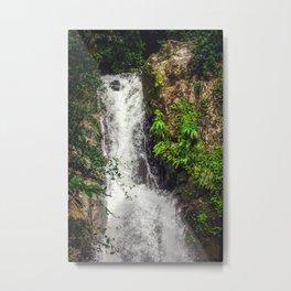 Rainforest Waterfall Metal Print