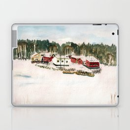 Finland village Laptop & iPad Skin