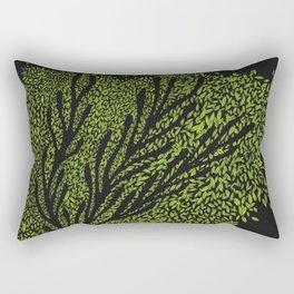 Night Leaves Rectangular Pillow