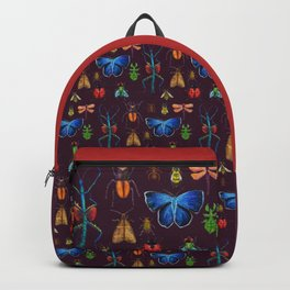Entomology (Black) Backpack