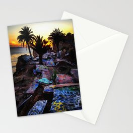 Ghetto by the Sea Stationery Cards