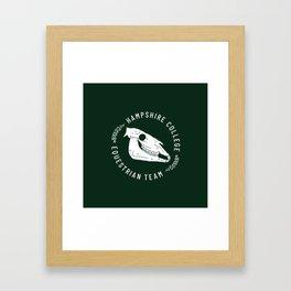 Hampshire Equestrian Framed Art Print
