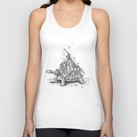 tortoise Tank Tops featuring Tortoise Town by Brandon Dover (Braniel)