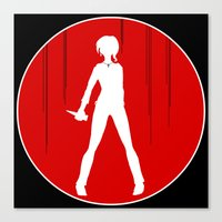 buffy the vampire slayer Canvas Prints featuring Buffy the Vampire Slayer by Devin Marie