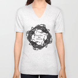 Don't Play Koi With Me Unisex V-Neck