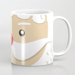 Close Up Santa Claus Face Coffee Mug